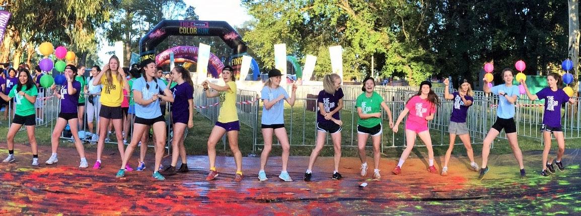 CLLASS Girls Color Run 2015